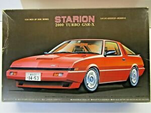 Fujimi 1:24 Scale Mitsubishi Starion 2000 Turbo GSR-X Model Kit - New - #110-800