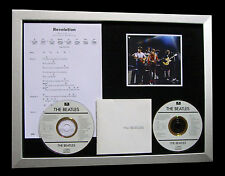 THE BEATLES Revolution GALLERY QUALITY MUSIC CD FRAMED DISPLAY+FAST GLOBAL SHIP