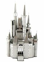 Tenyo Metallic Nano Puzzle Disney CINDERELLA CASTLE Model Kit NEW from Japan