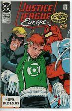 DC Comics JUSTICE LEAGUE EUROPE #11  VF/NM Feb. 1990 Guy Gardner vs Metamorpho