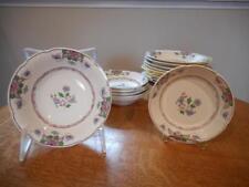 Wedgwood Saxon creamware SIXTEEN bowls, fruits and cereals, A7456