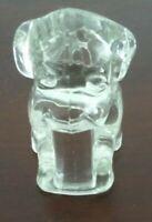 Vintage Degenhart Glass Dog Very Good Condition