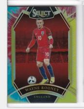 2016 Wayne Rooney #/30 Panini Select England Soccer Tie Dye Refractor