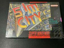 SIM CITY - SIMCITY - SUPER NINTENDO SNES - NEUF - SEALED - BRAND NEW