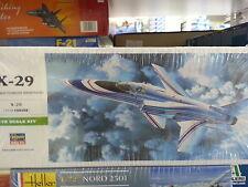 GRUMMAN X-29 HASEGAWA 1/72 PLASTIC KIT