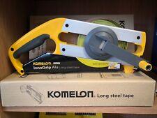 Komelon 30m Long Steel Tape Measure 30 Meter Ergonomic Brand New Free Postage