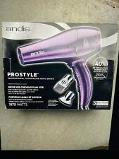 Andis Prostyle Professional Tourmaline Ionic Dryer- Purple