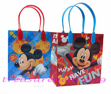 24 PC DISNEY MICKEY MOUSE GOODIE GIFT BAGS PARTY FAVORS CANDY TREAT BIRTHDAY BAG