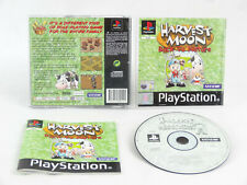 Harvest Moon Back To Nature PS1 PlayStation 1 Complete PAL