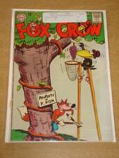 FOX AND THE CROW #81 VG+ (4.5) DC COMICS SEPTEMBER 1963 **