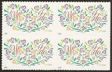 US 4881 Yes I Do 70c block (4 stamps) MNH 2014