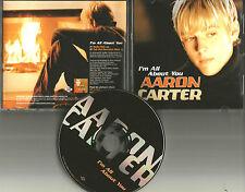AARON CARTER I'm All About You w/ RARE EDIT PROMO DJ CD single Backstreet Boys