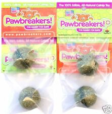 Catnip, Catnip Treats for Cats- 4 PAWBREAKERS- Candy for Cats