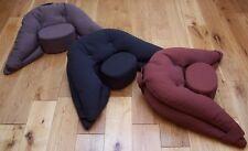 Organic Spelt Husk Meditation Cushion / Pillow / Zafu / Yoga cushion