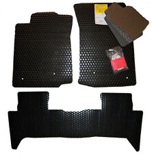 2002 - 2018 Toyota Tacoma TRD ALL WEATHER Floor Mats Black Tan Grey Brown Clear