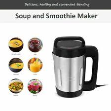 1.7L Soup Maker Juice Smoothie Dip Sauce Blender Machine Stainless Steel Jug