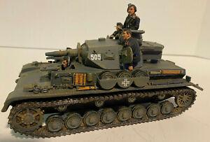 "German ""BLITZKRIEG PANZER IV""/PzKpfw IV D Tank WW2 King & Country WOB039 TopCond"