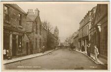 More details for gordon street, huntly - aberdeenshire postcard (p928)