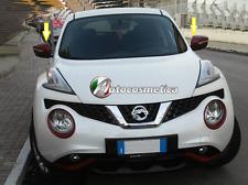 per Nissan Juke 2014 Calotte SPECCHI RETROVISORI IN abs rosso lucido specchietti
