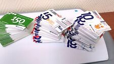 210 different phone cards GSM St. Petersburg Moscow Beeline Megafon MTS
