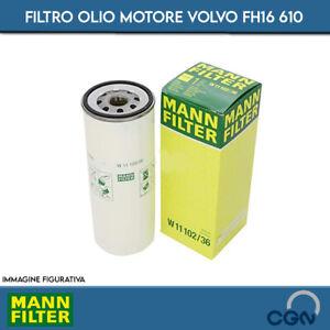 FILTRO OLIO MOTORE VOLVO FH16 610