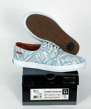 Nuove Scarpe Lakai skate shoes Camby Echelon sky blue textile NEEDLEPOINT 11,5/46
