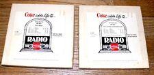 Coca-Cola vintage radio ads reel set 1976  Coke adds life to... 7.5 IPS