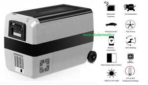 12V 53 QT COSTWAY Portable AC DC Refrigerator/Freezer USB WiFi Boat Camping Home