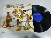 "Canciones Populares Infantiles 1969 - LP 10"" Vinilo G+/VG"