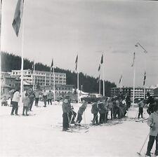 COURCHEVEL 1850 c. 1958 - Enfants Skieurs Station de Ski Savoie - Div 11885