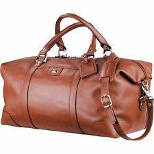 Cutter&Buck Leather Weekender execu travel Duffel high sellout risk
