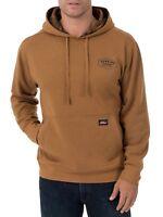 Dickies Midweight Fleece Lined Pullover Sweatshirt Brown M Medium