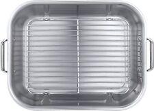 Tramontina Gourmet 18.75 inch Roasting Pan Stainless Steel Dishwasher Safe NEW
