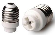 Lichtadapter von Sockel E27 auf G9 Fassung Adapter Sockelumwandler Konverter
