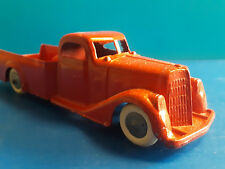Vtg Collectible Tootsie Toy Metal Truck Pick Up Truck Red Chicago U.S.A
