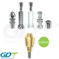 Straight Multi Unit 4.0mm Set For Conical NP Active Hex Dental Implants