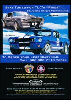 2004 Shelby GT500E GT350SR Unique Original Advertisement Print Art Car Ad J623