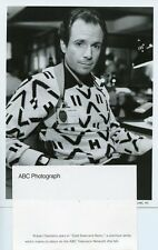 ROBERT DESIDERIO PORTRAIT COLD STEEL AND NEON ORIGINAL 1986 ABC TV PHOTO