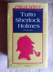 TUTTO SHERLOCK HOLMES di Arthur Conan Doyle - Grandi Tascabili Newton