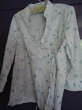 Gorgeous BLUE EMBROIDERED WOMENS LONG SLEEVE SHIRT (14)