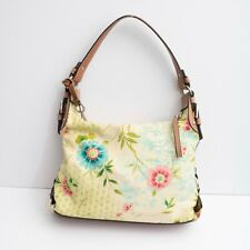 Fossil Yellow Floral Print Shoulder