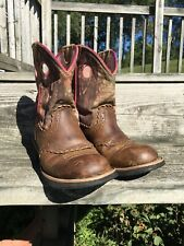 Ariat Fatbaby Camo Roper Round Toe Boots Women's Size 7.5B