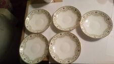 "6 x Vintage Adderley Saucers ""Endon"" (There are 6 not 5)"