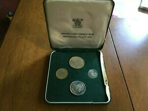 4 PIECE PROOF COIN SET RESERVE BANK OF MALAWI INDEPENDENCE 6TH JULY 1964