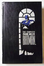 DC Comics The Complete Frank Miller Batman (1989) Leather Bound Hardcover