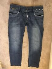 DOLCE and Gabbana Uomini Jeans Taglia 50 VERDE Fit 100% AUTENTICO