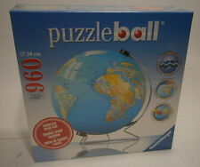 Ravensburger Puzzle Ball Globe With Display Stand 960 Pieces SEALED BRAND NEW