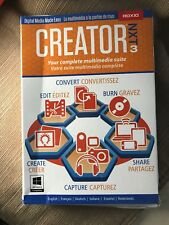 Roxio Creator NXT 3 - Multimedia Suite -= Free Shipping! Good Condition -