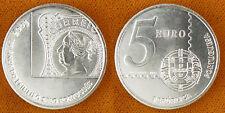PORTUGAL  ,  5  EUROS  ARGENT  2003   1° TIMBRE  ,  SUPERBE