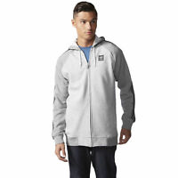 adidas Originals Skateboarding AS Hood Track Jacket Sizes XS-L Grey RRP £60 BNWT